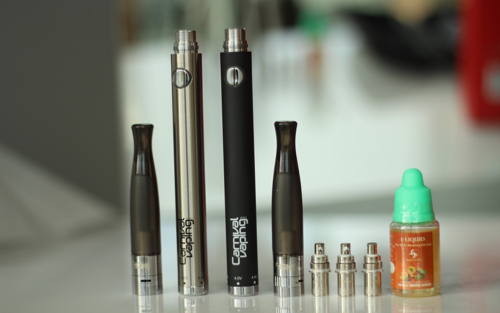 e-cigarettes and e-liquids